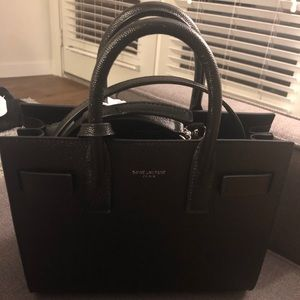 Brand New Saint Laurent Nano Sac De Jour